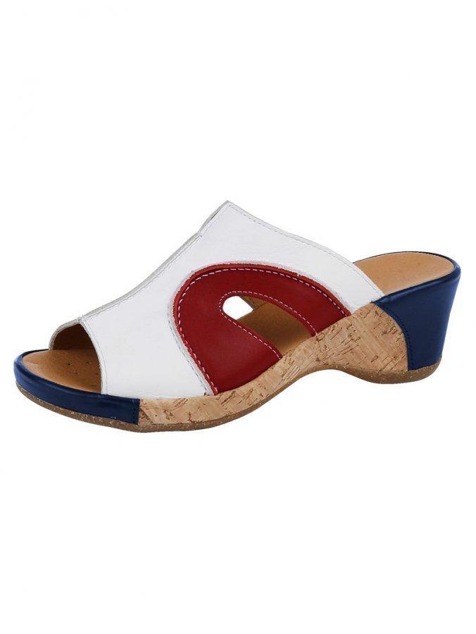 Aco Sandaalit Sinen / Valkoinen / Punainen