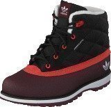 Adidas Adi Navvy Quilt K Black 1/Hi-Res Red3/Hero