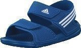 Adidas Akwah 9 C Eqt Blue/Ftwr White/Ftwr White