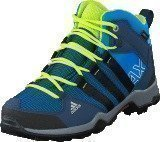 Adidas Ax2 Mid Cp K Shock Blue/Core Black/Slime