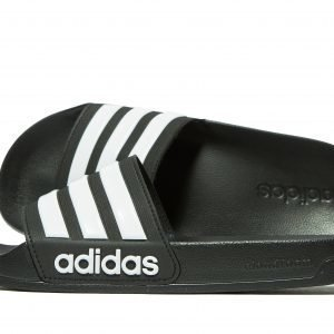 Adidas Cloudfoam Adilette Slides Musta