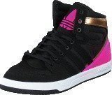 Adidas Court Attitude K Core Black/Shock Pink S16