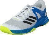Adidas Court Stabil J Ftwr White/Black/Shock Blue