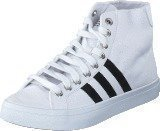 Adidas Courtvantage Mid White/Black/Metallic Silver