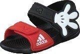 Adidas Disney Akwah 9 I Core Black/Vivid Red/White