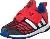 Adidas Disney Spider-Man Cf I Vivid Red/White/Core Black