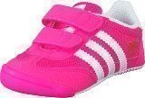 Adidas Dragon L2W Crib Shock Pink S16/Ftwr White
