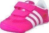 Adidas Dragon L2W Crib Shock Pink S16/Ftwr White