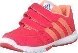 Adidas Essential Star 2 Cf K Shock Red/Sun Glow/Eqt Blue