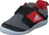 Adidas Fortaplay Ac I Medium Grey Heather/Core Black