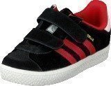 Adidas Gazelle 2 Cf I Black/Red/Ftwr White