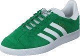 Adidas Gazelle Green/White/Gold Met.