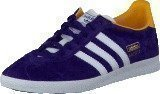Adidas Gazelle Og W Dark Purple/White/Gold