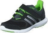 Adidas Hyperfast 2.0 El K Core Black/Silver/Solar Green