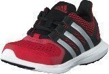 Adidas Hyperfast 2.0 K Core Black/Silver/Power Red