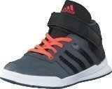 Adidas Jan Bs 2 Mid C Onix/Core Black/Solar Red