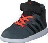 Adidas Jan Bs 2 Mid I Onix/Core Black/Solar Red