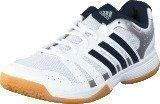 Adidas Ligra 3 White/Collegiate Navy/Silver