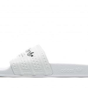 Adidas Originals Adilette Slides Valkoinen