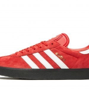 Adidas Originals Gazelle Scarlet / White