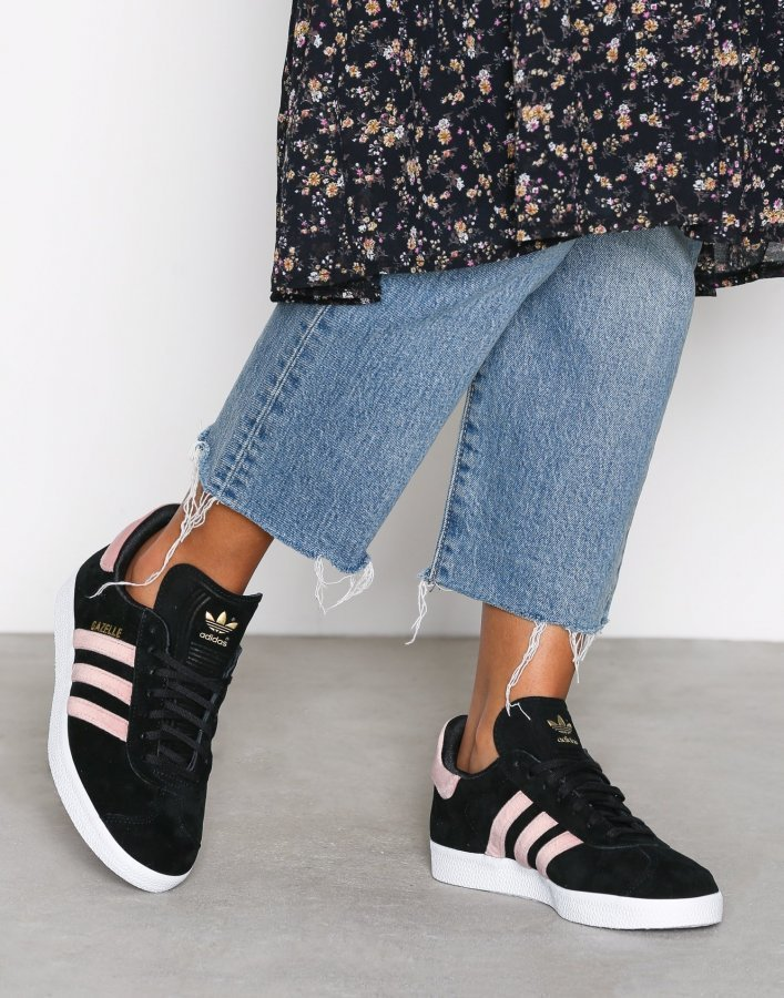 Adidas Originals Gazelle W Tennarit Musta / Vaaleanpunainen