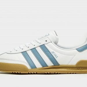 Adidas Originals Jeans Leather Valkoinen