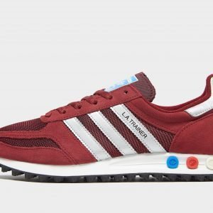 Adidas Originals La Trainer Og Burgundy / Silver