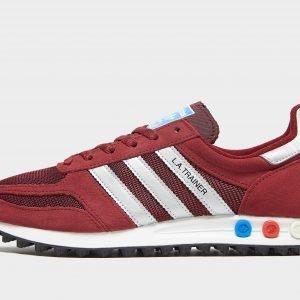 Adidas Originals La Trainer Og Burgundy / Silver