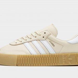 Adidas Originals Samba Rose Linen / White