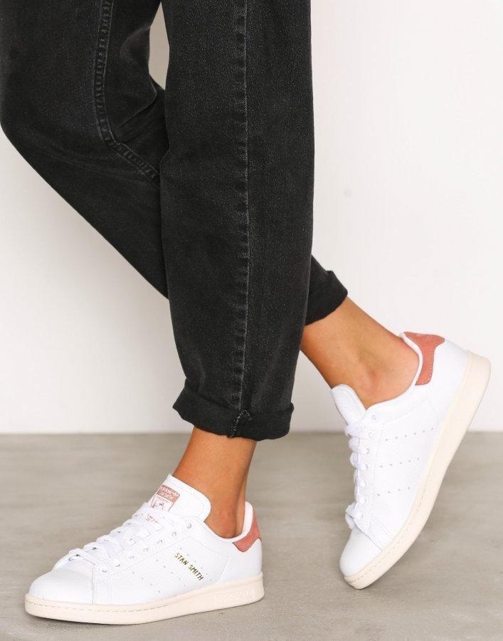 Adidas Originals Stan Smith Tennarit Valkoinen / Punainen