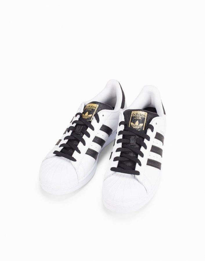 Adidas Originals Superstar Tennarit Valkoinen/musta