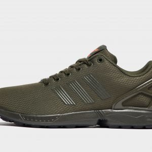 Adidas Originals Zx Flux Cargo / Carbon / Orange