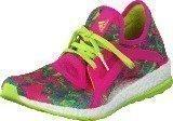 Adidas Pureboost X Shock Pink/Semi Solar Slime