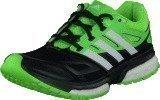 Adidas Response Boost Tech Core Black/White/Solar Green