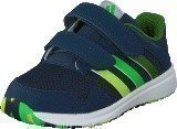 Adidas Snice 4 Cf I Mineral Blue/Lime