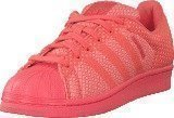 Adidas Superstar Weave Bright Coral/Ftwr White