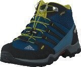 Adidas Terrex Mid Gtx K Tech Steel/Black/Unity Lime