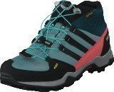 Adidas Terrex Mid Gtx K Vapour Steel/Black/Tech Green