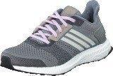 Adidas Ultra Boost St W Grey/Chalk White/Purple Glow