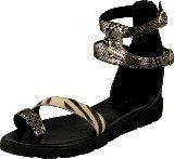 Amust Kaya sandal Gold/black
