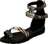 Amust Kaya sandal Gold/black