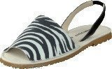Amust Mallorca sandal Zebra