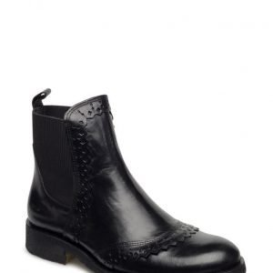 Angulus Ankle Boot W. Elastic Detail