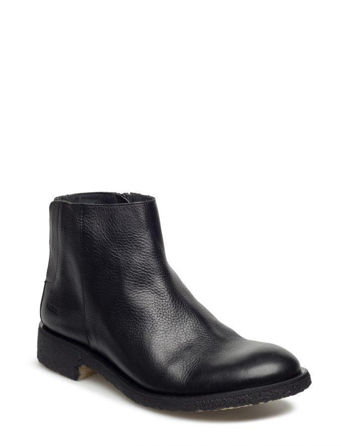 Angulus Boot W Zipper And Elastic Detail.