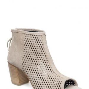 Angulus Bootie- Block Heel -With Zipper
