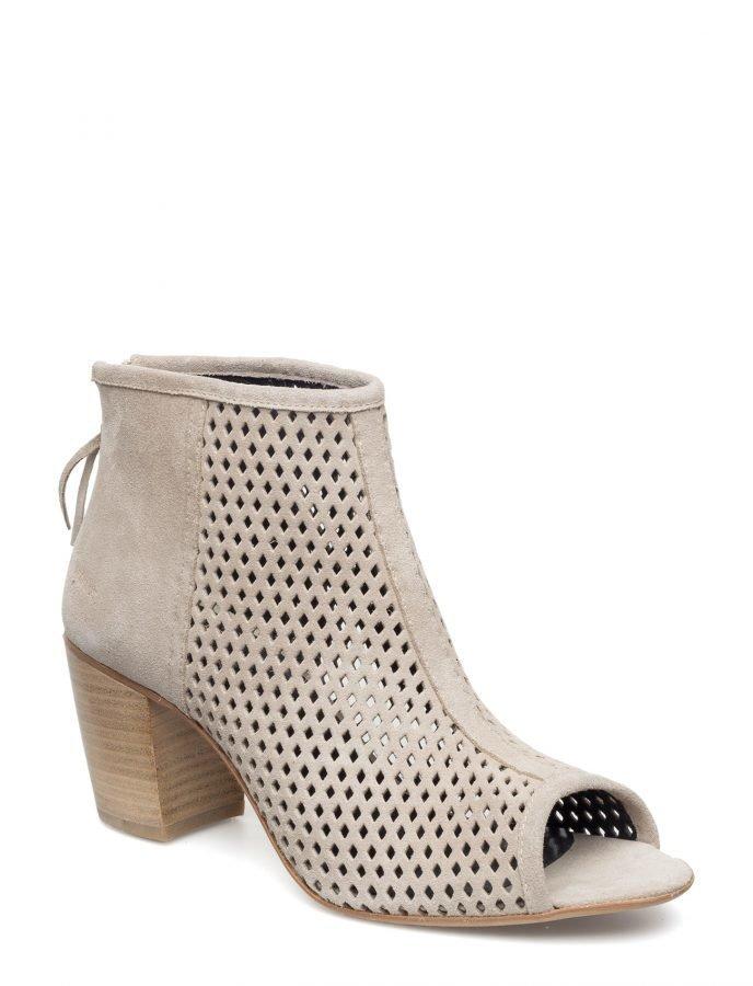 Angulus Bootie- Block Heel -With Zipper