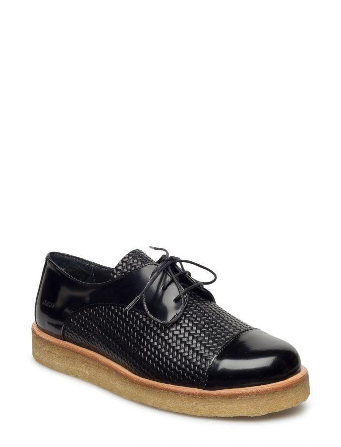 Angulus Lac-Up Shoe With Pleateau Sole