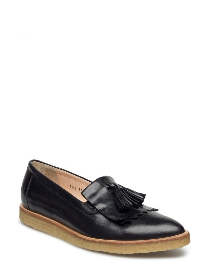 Angulus Loafer With Fringes And Tassels