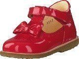 Angulus Mary janes with bow and velcro Red