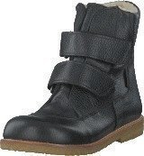 Angulus TEX-boot w. velcro straps Black/Black